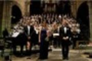 colyton grammar school pupils perform at exeter cathedral